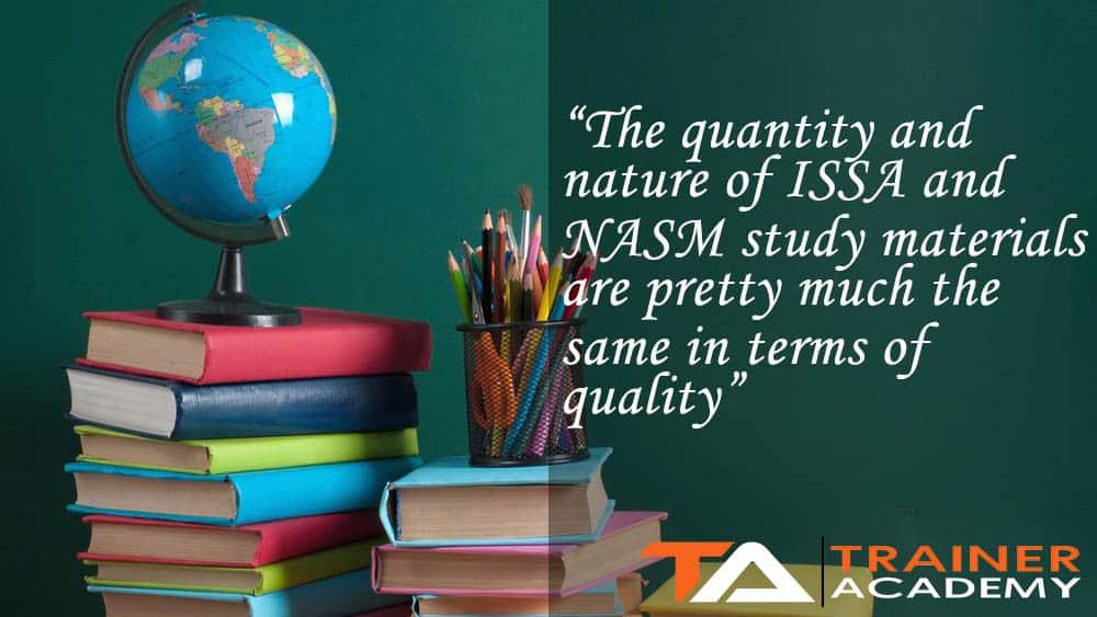 ISSA and NASM Study Materials