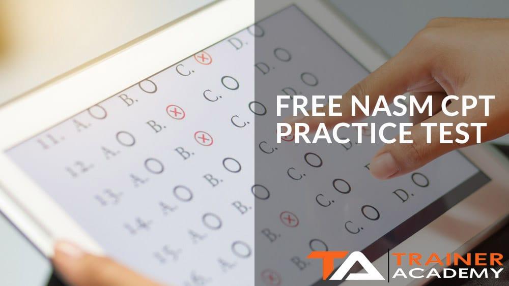 FREE NASM CPT PRACTICE TEST 1