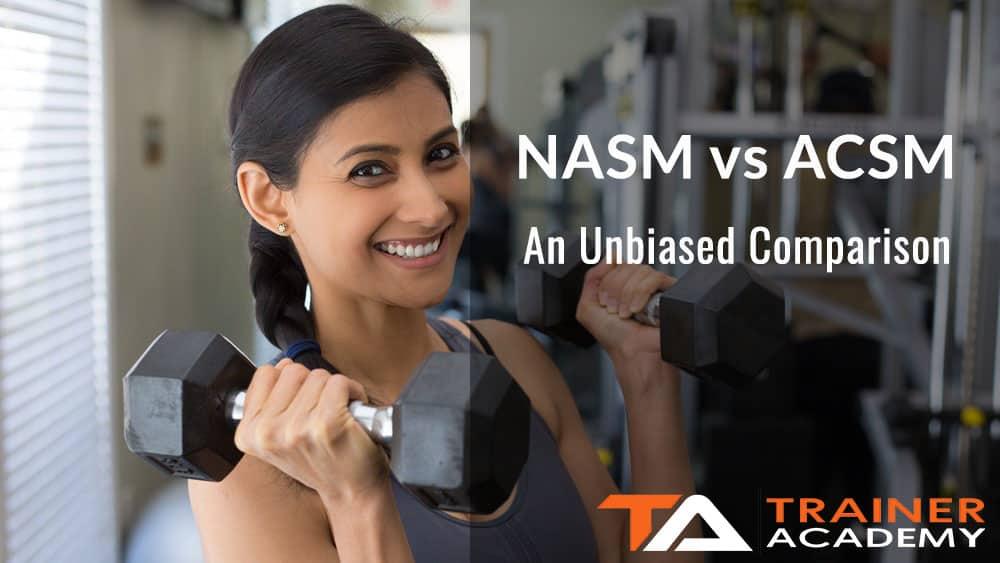 NASM vs ACSM 1