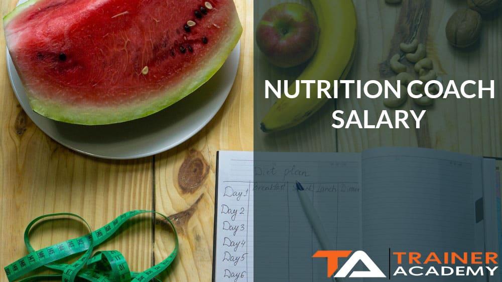 Nutrition Coach Salary